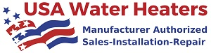 USA Water Heaters - Installation & Repair Logo